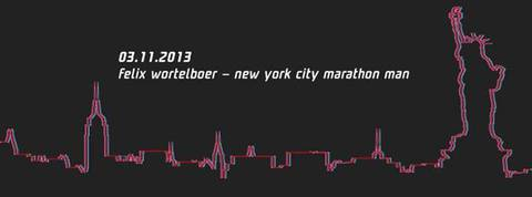 spoocha beim NYC Marathon